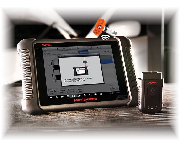 Autel MS906TS TPMS & MaxiSYS Diagnostic System and Scan Tool, USA Version AUMS906TS