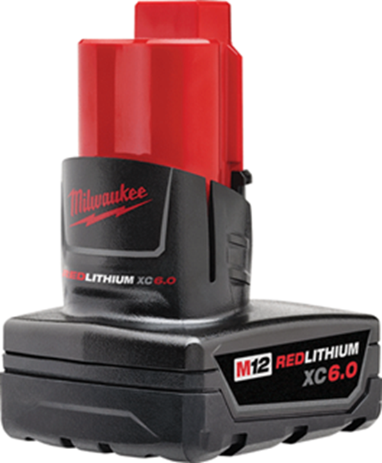 Milwaukee M12™ REDLITHIUM™ XC6.0 Extended Capacity Battery Pack - Direct Tool Source
