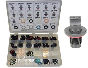 AGS COMPANY SOLUTIONS LLC 24 Pc. Oil Drain PlugAssortment AKODPA-1 - Direct Tool Source