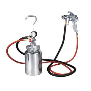 ASTRO PNEUMATIC 2 Quart Pressure Pot 1.7mmSpray Gun Kit AO2PG8S - Direct Tool Source