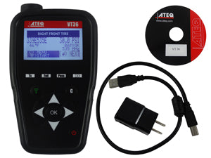 ATEQ TPMS TOOLS TPM Sensor Activation Toolwith Universal Sensor AQVT36-0000 - Direct Tool Source