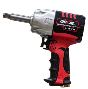 "AIRCAT 1/2"" VIBROTHERM DRIVE ™ Extended Anvil Impact Wrench - Direct Tool Source"