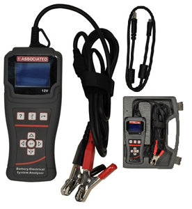 ASSOCIATED EQUIPMENT Digital Battery ElectricalSystem Analyzer Tester with AS12-1012 - Direct Tool Source