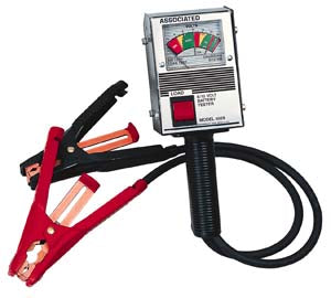 ASSOCIATED EQUIPMENT Hand Held Battery Tester AS6029 - Direct Tool Source