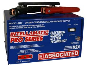 ASSOCIATED EQUIPMENT 20 Amp Itellicharger PowerSupply and Battery Charger AS9425 - Direct Tool Source