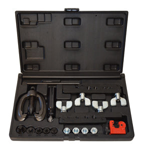 CALVAN Double and Bubble Flaring ToolKit Metric and SAE CV82900