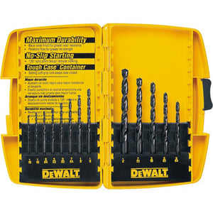 DEWALT 13-Pc. Black Oxide Drill BitSet DW1163