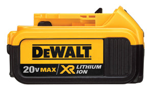 DEWALT 20V MAX* Premium XR LithiumIon Battery Pack  (4ahr) DWDCB204 - Direct Tool Source