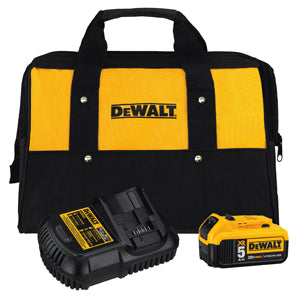 DEWALT 5 Amp Battery Bag and ChargerKit DWDCB205CK