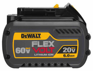 DEWALT Flexvolt 20/60V Max BatteryPack 6.0AH DWDCB606 - Direct Tool Source