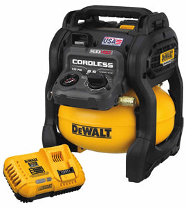 DEWALT Flexvolt 60V Max 2.5 GallonCordless Air Compressor Kit DWDCC2560T1