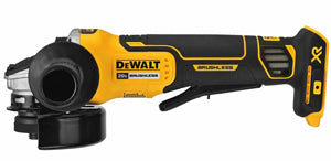 "DEWALT 4.5"" 20V Max XR PaddleSwitch Small Angle Grinder DWDCG413B - Direct Tool Source"