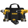 DEWALT 12V Lithium Ion Drill/Impact Combo Kit DWDCK211S2