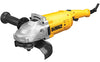 "DEWALT 7"" Large Angle Grinder With 2Finger Lock On Trigger Switch DWE4517"