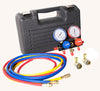 "FJC INC. Aluminum Manifold Gauge Set INBlow Mold Case w/60"" hoses FJ6760SPC60 - Direct Tool Source"
