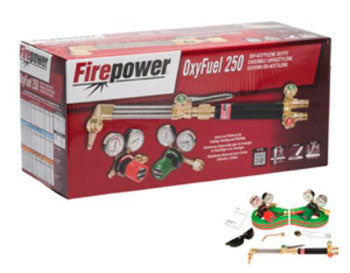 FIREPOWER Oxyfuel 250 Medium Duty Outfit FR0384-2571