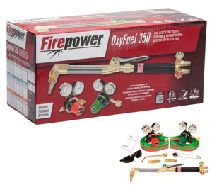 FIREPOWER 350 Series Oxy/Acty Gas WeldKit FR0384-2682