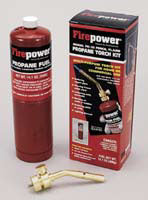 FIREPOWER Propane Basic Torch Kit withGas FR0387-0471