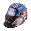 FIREPOWER Auto Dark Weld Helmet Stars &Stripes Eagle FR1441-0087