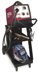 FIREPOWER 135 AMP MIG Welder Kit withCart and Helmet FR1444-0346