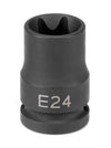 "GREY PNEUMATIC 1/2"" Drive x E24 ExternalStar Impact Socket GY2124ET - Direct Tool Source"