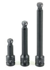 "GREY PNEUMATIC 1/2"" Drive 3 Piece ImpactWobble Extension Set GY2203WE"