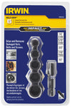 IRWIN 6 Piece Damaged Bolt-GripImpact Set HA1859143