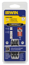 IRWIN 3 Piece Damaged Screw-GripImpact Extractor Set HA1876224