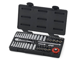 GEARWRENCH 51 Piece 1/4 Drive 6 Point Socket Set KD80300 - Direct Tool Source