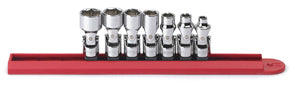 GEARWRENCH 7 Piece 1/4 Flex 6 Point SAE Socket Set KD80310 - Direct Tool Source