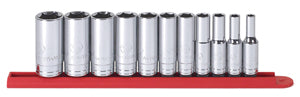 GEARWRENCH 3/8 Drive Sae 11 Pc 6 Pt MidLength Socket Set 1/4-7/8 KD80555S