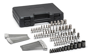 GEARWRENCH 84 Piece SAE/Metric Hex andTorx?? Bit Socket Set KD80742