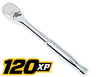 "GEARWRENCH 1/2"" 120XP Drive Full PolishTeardrop Ratchet KD81304P - Direct Tool Source"