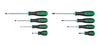 GEARWRENCH 8 Piece Green & BlackScrewdriver Set KD82683 - Direct Tool Source