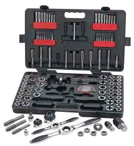 GEARWRENCH 114 Piece Combination Tap andDie Set KD82812