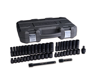 "GEARWRENCH 44 Piece 3/8"" Drive 6 PointSAE/Metric Std./Deep Impact KD84916N - Direct Tool Source"