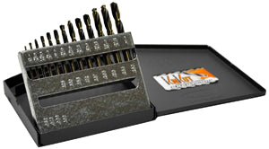 KNKUT 13 Piece Stubby Length DrillBit Set KW13KK7 - Direct Tool Source