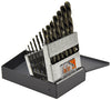 KNKUT 15 Piece Left Hand JobberLength Drill Bit Set KW15KK6