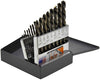 KNKUT 21 Piece Left Hand JobberLength Drill Bit Set KW21KK6