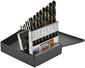 KNKUT 21 Piece Left Hand JobberLength Drill Bit Set KW21KK6 - Direct Tool Source