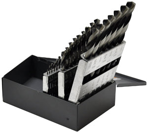 KNKUT 29 Piece Reduced Shank JobberLength Drill Bit Set KW29KK38