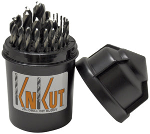 KNKUT 29 Piece Drill Buddy JobberLength Drill Bit Set KW29KK5DB - Direct Tool Source
