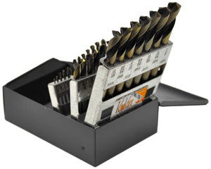 KNKUT 29 Piece Stubby Length DrillBit Set KW29KK7 - Direct Tool Source