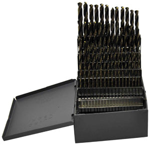 KNKUT 80 Piece Jobber Length Numbers1-80 Drill Bit Set KW80KK5 - Direct Tool Source