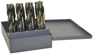 "KNKUT 8 Piece S&D 1/2"" Reduced ShankDrill Bit Set KW8KK12 - Direct Tool Source"