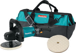 "MAKITA 7"" Premium Variable ElectricPolisher and Sander  Kit MK9237CX2 - Direct Tool Source"