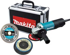 MAKITA 4-1/2 Angle Grinder Promo Pack MK9557PBX1 - Direct Tool Source