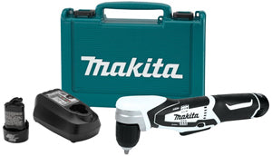 "MAKITA 12V max Lithium-Ion Cordless3/8"" Right Angle Drill Kit MKAD02W"