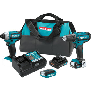 MAKITA 12V CXTŸ?? Drill Impact andLight Kit MKCT321RX