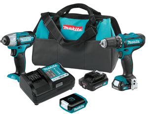 MAKITA 12V Max CXTŸ?? Lithium-Ion Cordless 3-Pc. Combo Kit MKCT323 - Direct Tool Source